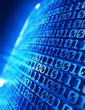 Backgroud di codice binario Immagini Stock