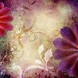 Backgroud do Lilac ilustração stock