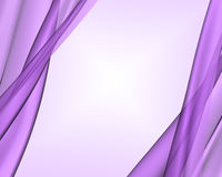 backgroud tkaniny purpury Obraz Royalty Free