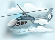 backgroudoklarhetshelikopter Royaltyfri Fotografi