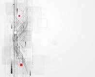 Backgroun abstracto del negocio del concepto de la informática del infinito Stock de ilustración