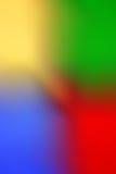 Backgroun abstrait De-focalisé coloré multi coloré de tache floue de photo Photographie stock