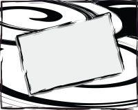 Backgroun abstrato branco preto Ilustração do Vetor