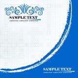 Backgroun azul Fotografia de Stock Royalty Free