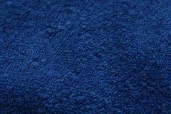 Backgroun azul de la materia textil Imágenes de archivo libres de regalías