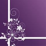 Backgroun floral abstrato Imagens de Stock