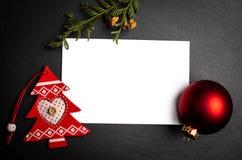 Backgroun foncé avec le cadre de carte postale encadrer photo libre de droits