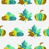 Backgroun inconsútil del modelo de los elementos geométricos de la caída Imagen de archivo libre de regalías
