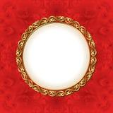 Backgroun rojo Foto de archivo libre de regalías