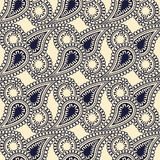 Backgroun sans couture de Paisley Images stock