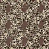 Backgroun sans couture de Paisley Images stock