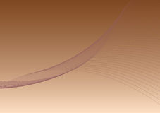 Background 1 - brown. Background with twirling lines Vector Illustration
