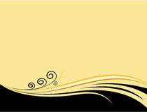 Background. Beige background with element for design vector illustration Stock Photo