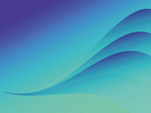 Background. Wavy multi-coloured background with bright transitions Royalty Free Stock Photo
