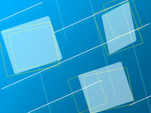 Background. Web oriented square retro background Royalty Free Stock Photos