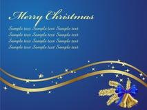 Background. Elegant Christmas Background. Vector illustration Stock Photography