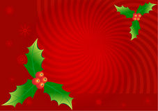 Background. Christmas background with branches Royalty Free Stock Photography