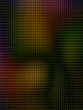 Background. Yellow, red, black and green lines illustration Stock Image