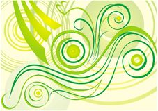 Background_13_1. Pattern from elements and parts of plants vector illustration