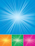 Background. Abstract backgrounds in four colors, illustration Stock Photography