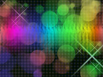 Background. This graphic is Rainbow Background Royalty Free Stock Photos
