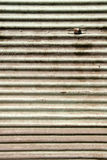 Background. Back side of metal container Royalty Free Stock Photos