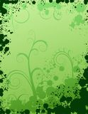 Background. Creative frames with splash shapes, organic ornament and empty space for text Stock Photo