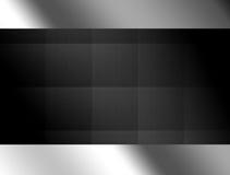 Background. Black texture with chrome frame, Background illustration vector illustration