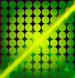 Background. Green circle abstract green background illustration vector illustration