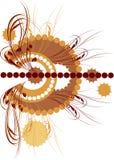 Background_178 floral Imagen de archivo libre de regalías