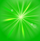 Background. Green abstract background with circles Royalty Free Stock Photos