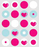 Background. Vector Illustration of Modern decorative background Royalty Free Stock Photography