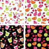 Background. Of fruit and berries Stock Image