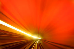 Background. Of abstract of colorful scene of tunnel Royalty Free Stock Image