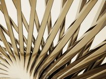 Background. Striped 3d background in abstract style Royalty Free Stock Photos