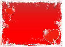 Background. Valentine's Day,work with vectors,illustrator Royalty Free Stock Images