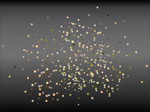 Background. Vector glitter on a gradient background Stock Images