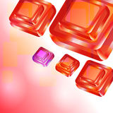 Background. Useful background with square design elements Royalty Free Stock Photo