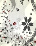 Background. It is a background illustration of a flower Royalty Free Stock Photo
