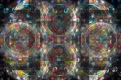 Background. Abstract circles colorful pearl background Royalty Free Stock Photos