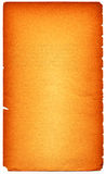 Background. Old paper orange grunge background Royalty Free Stock Photography