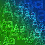 Background. Modern background from capital letters royalty free illustration