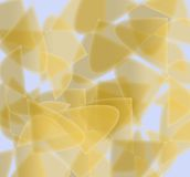 Background. Yellow illustration over light blue background Stock Photos