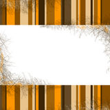Background. With stripes frame with space for text Stock Photography