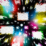 Background. The Abstract background with colour washed away rectangles and circles Royalty Free Stock Photos