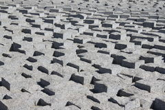 Concrete paved texture Royalty Free Stock Photo