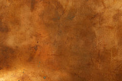 Background. Grunge background from sheet metal of bronze Royalty Free Stock Image