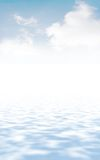 Background. Beautiful background with smooth transitions of paints from one in another royalty free illustration