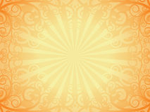 Background. Decorative page in an old book, vector Royalty Free Stock Image