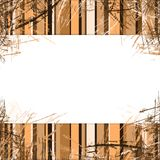 Background. With stripes frame with space for text Royalty Free Stock Photography
